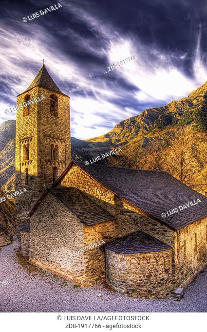 Romanesque church of Sant Joan, Boi, Lleida province, Catalonia, Spain