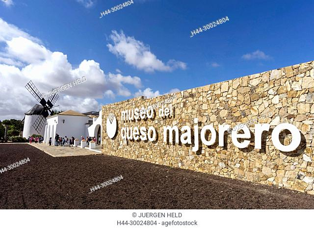Museo del Queso Majorero, Museo Molino, Antigua, Canary Islands, Spain