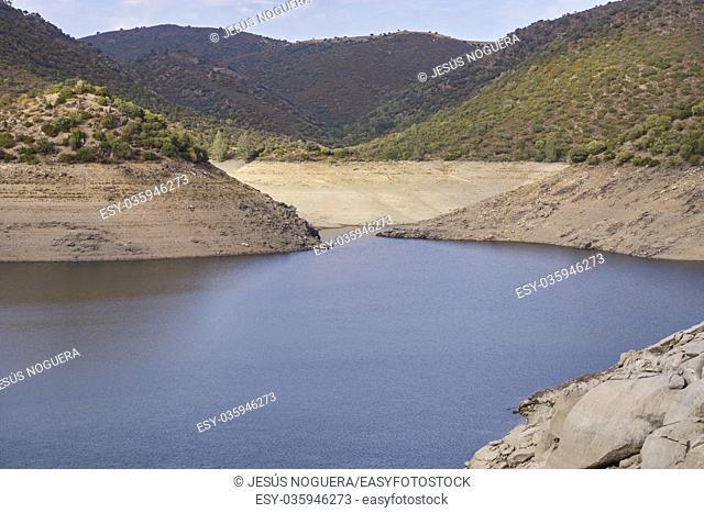Jandula Reservoir, Sierra de Andujar Natural Park. Jaen