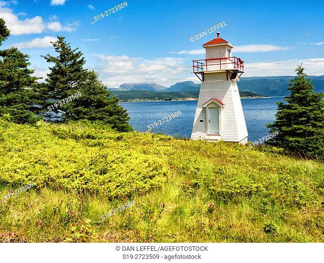Woody Point Lighthouse Newfoundland