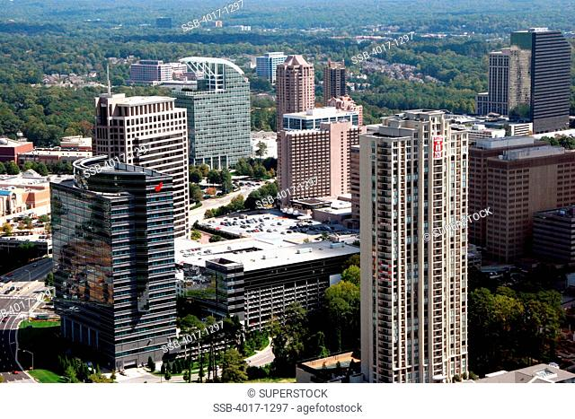 Buckhead area of Atlanta