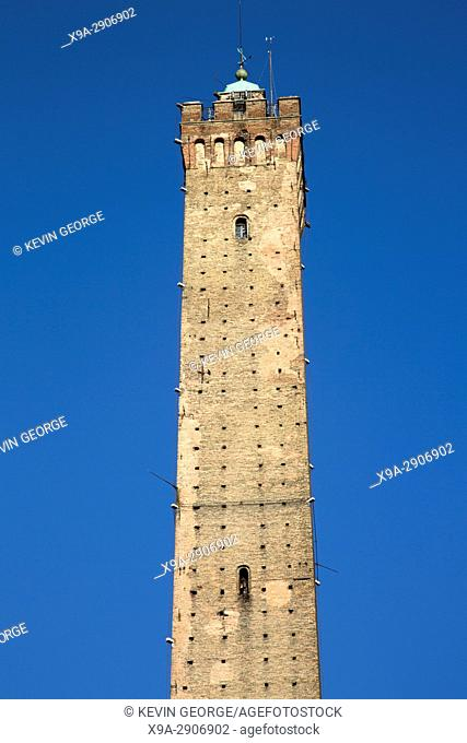 Asinelli Tower of Bologna; Italy