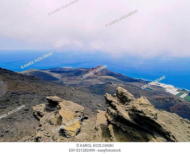 Fuencaliente Volcanic Landscape on La Palma