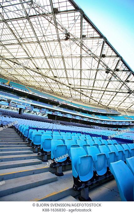 Stadium Australia at Sydney Olympic Park  Homebush bay, Sydney, Australia