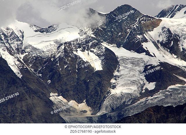 Mountain in Chandrabhaga range Rohtang Pass, Himachal pradesh, India