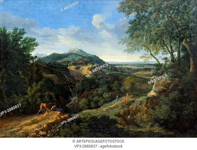 Gaspard Dughet - Roman Mountain - 1659 - XVII th Century - Italian School - Gemäldegalerie - Berlin