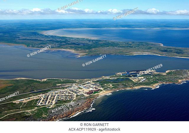aerial, Churchill, Manitoba