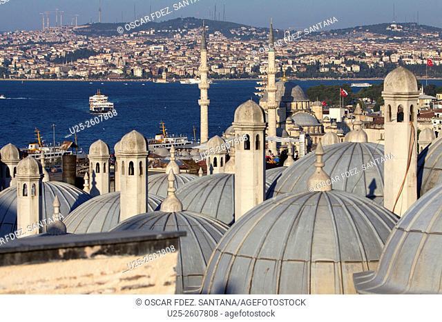 Suleymaniye, Istanbul, Marmara, Turkey