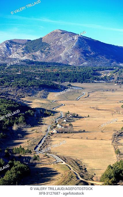 Plaine de Caussols, Parc regional des Prealpes d'Azur, 06, Alpes-Maritimes, Cote d'azur, PACA,
