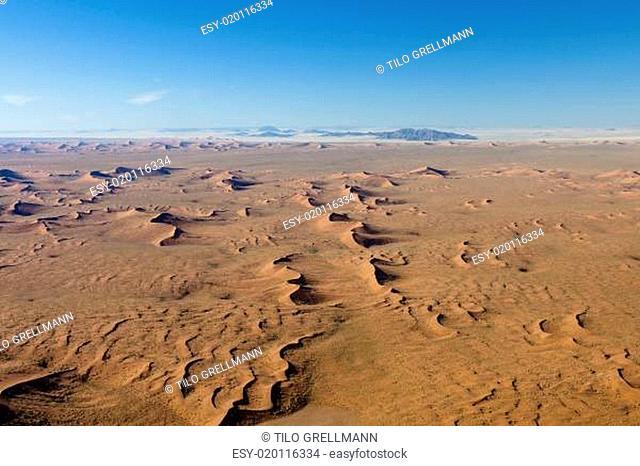 Namib-Naukluft Nationalpark aus der Luft