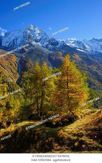 Dent de Perroc, Aiguille de la Tsa, Valais, Switzerland