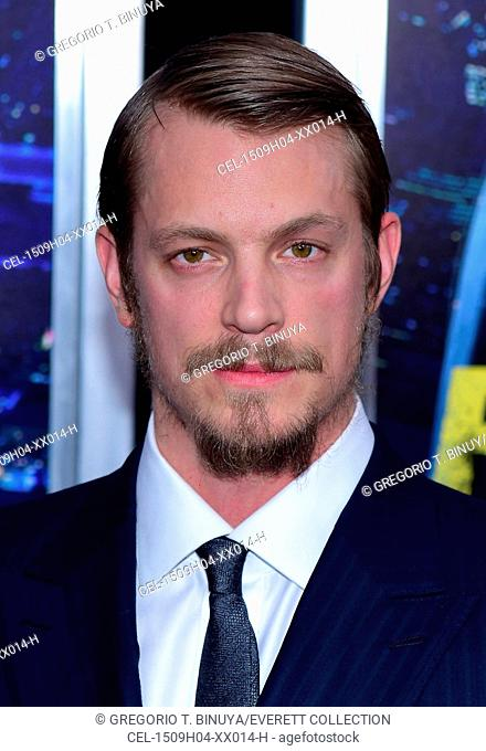 Joel Kinnaman at arrivals for RUN ALL NIGHT Premiere, AMC Theater at Lincoln Square, New York, NY March 9, 2015. Photo By: Gregorio T