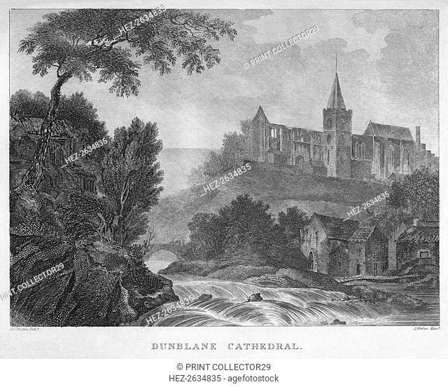 'Dunblane Cathedral', 1804. Artist: James Fittler