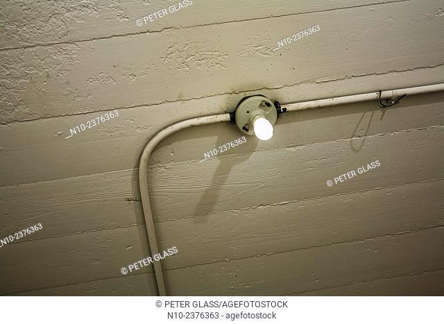 Overhead lightbulb