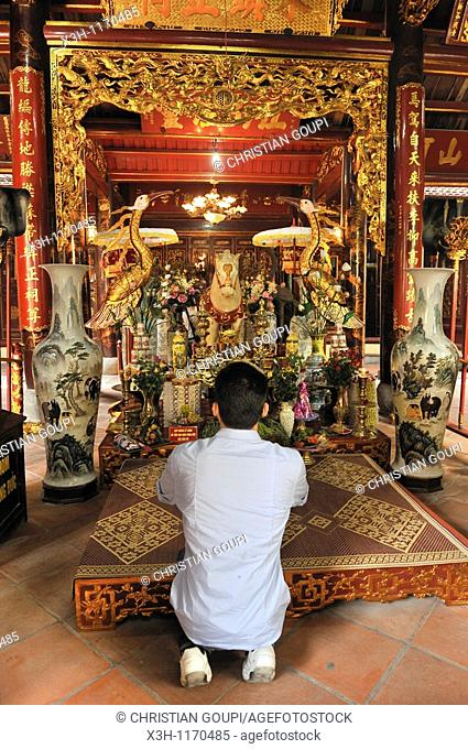 Bach Ma Temple, Hanoi, Northern Vietnam, southeast asia