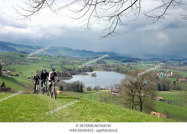 Fahrradtour, Schweiz
