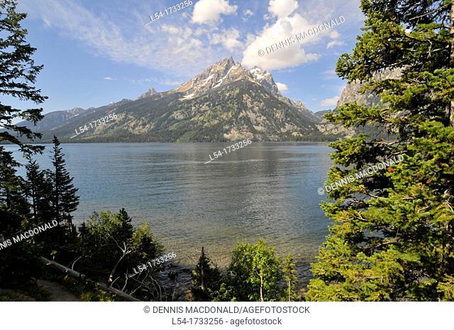 Jackson Lake Grand Teton National Park Wyoming WY United States