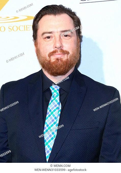 53rd Annual Cinema Audio Society (CAS) Awards at Omni Los Angeles Hotel at California Plaza - Arrivals Featuring: Sam Hammer Where: Los Angeles, California