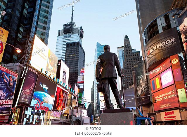 Statue at Time Square