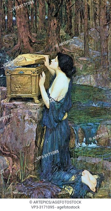 Waterhouse John William - Pandora