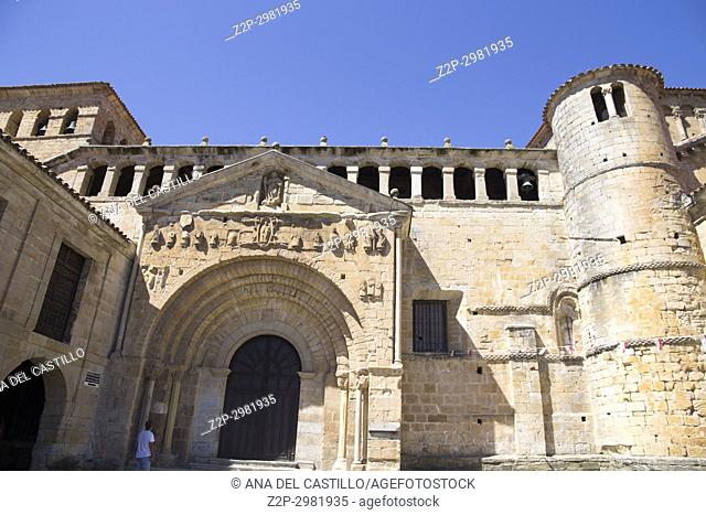 Santillana del Mar is one of the most beautiful villages in Spain Cantabria.The cathedral