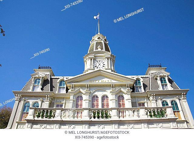 City Hall, Main Street, Magic Kingdom, Orlando, Florida, USA
