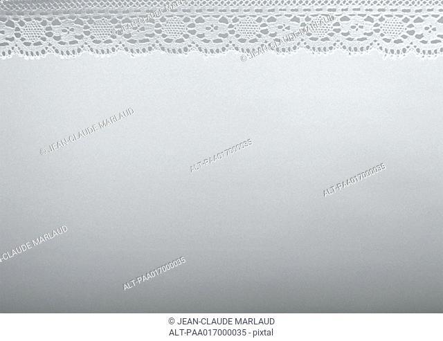 White fabric, close-up, full frame