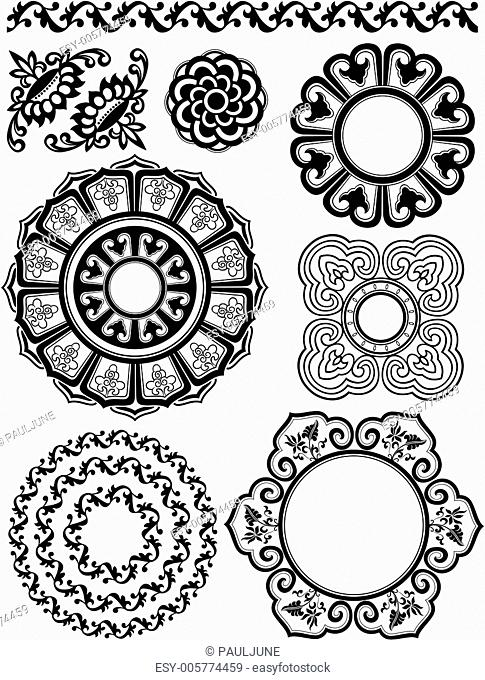 decorative circular pattern