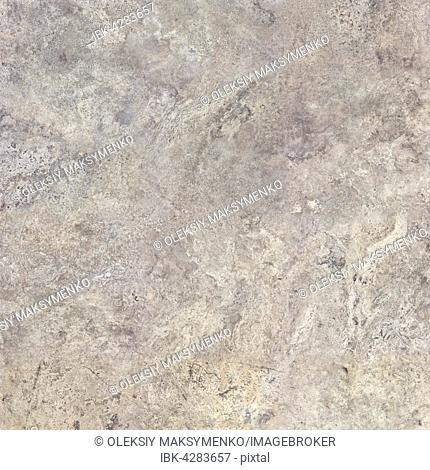 Gray travertine stone, texture