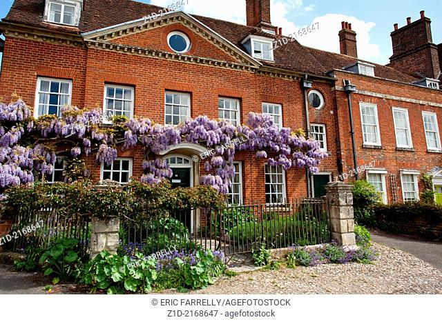 Mompesson House at Chorister's Green in Salisbury Wiltshire England UK