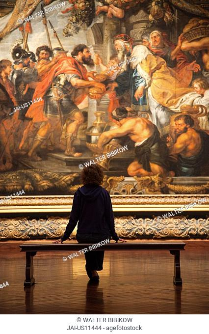 USA, Florida, Sarasota, Ringling Museum, Museum of Art, The Meeting of Abraham and Melchizedek, by Peter Paul Rubens MR