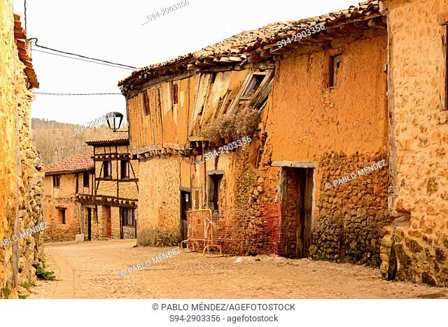 Historical town of Calatañazor, Soria, Spain