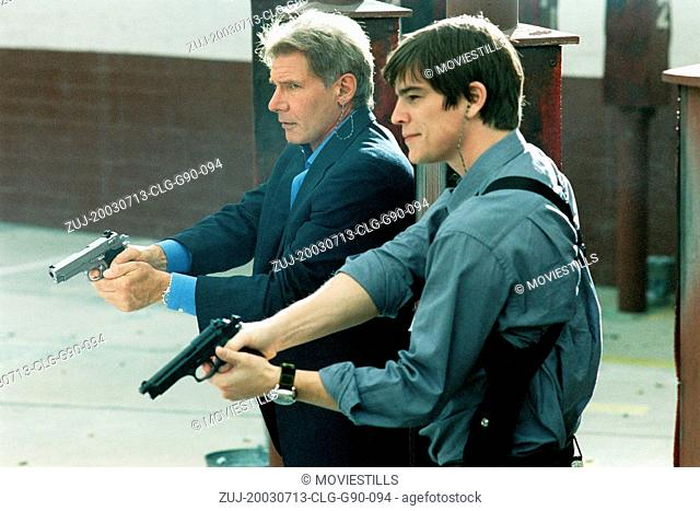 Jul 13, 2003; Los Angeles, CA, USA; Actor HARRISON FORD stars as Joe Gavilan and JOSH HARTNETT as K.C. Calden in the Revolution Studios action/comedy