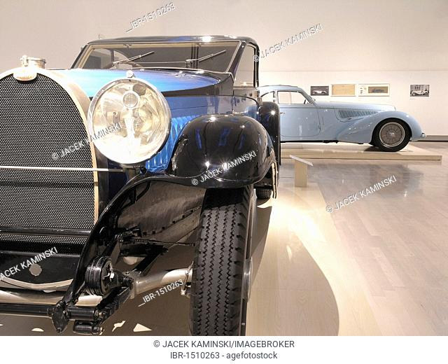 Bugatti, Mitomacchina exhibition, Museum of Modern Art, MART, Rovereto, Italy, Europe
