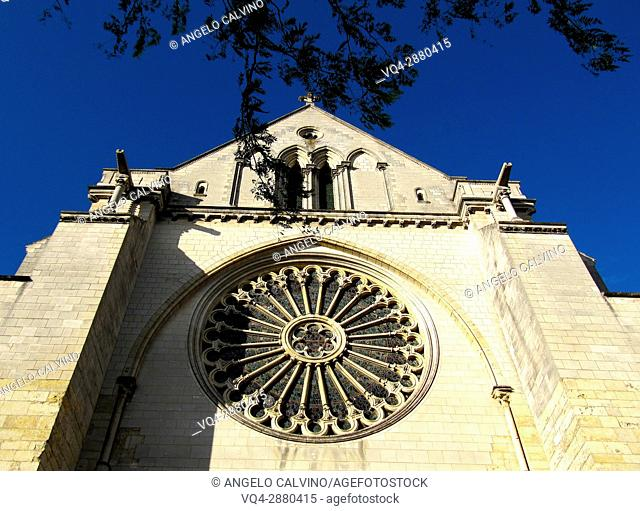 St. Maurice Cathedral. Angers, Pays de la Loire, France