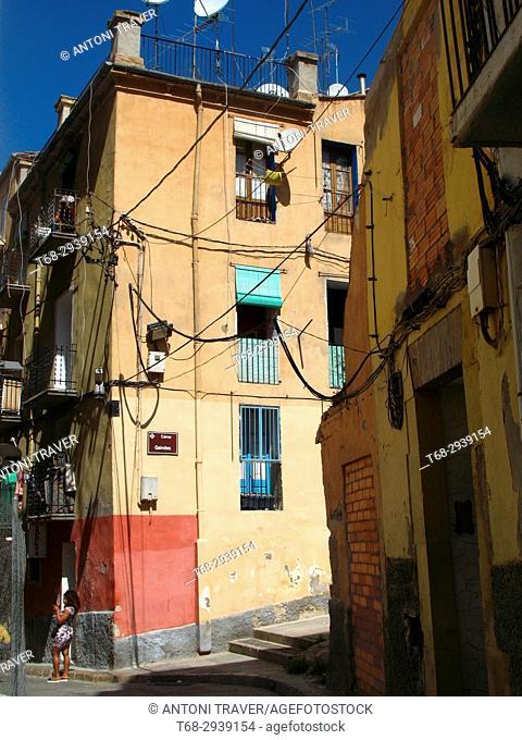 Old town, Lleida, Spain