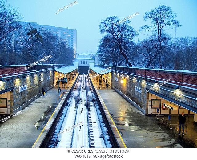-Station of Stadpark- Wien (Austria)