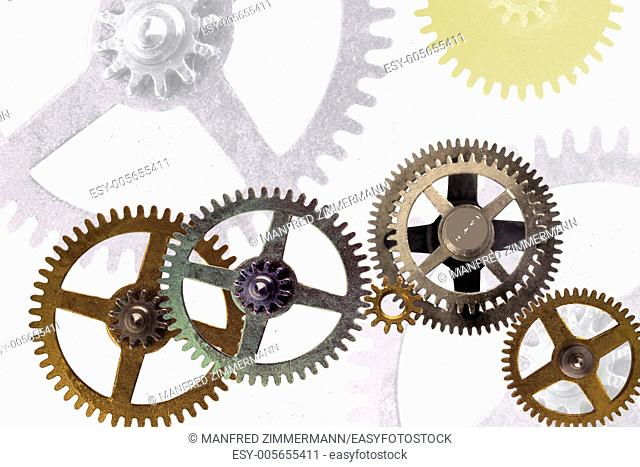The gears symbolize togetherness