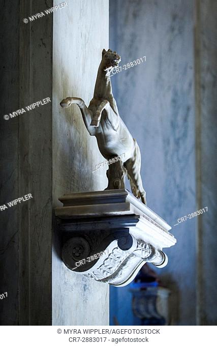 Horse statue, Vatican, Rome, Italy