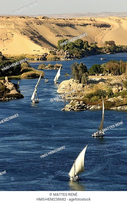 Egypt, Upper Egypt, Nubia, Nile Valley, Aswan, Nile River