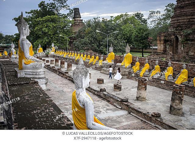 Wat Yai Chai Mongkhon Temple, Ayutthaya, Thailand
