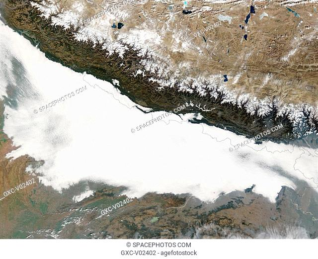 Smog in Northern India