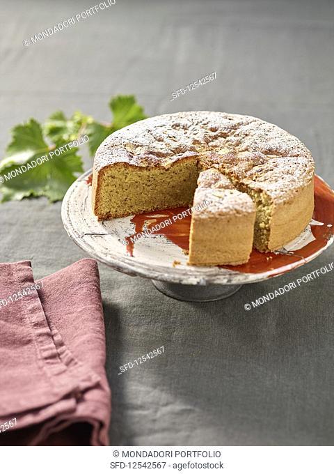 Torta di nocciole (hazelnut cake from the Langhe region, Italy)
