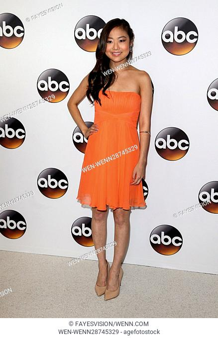 Disney ABC Television Group Hosts TCA Summer Press Tour at the Beverly Hilton Hotel - Arrivals Featuring: Krista Yu Where: Beverly Hills, California