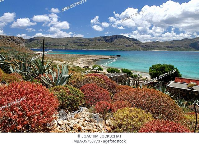 Island Imeri Gramvousa, Crete, Western Crete, Greece