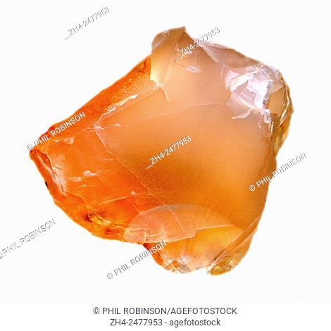 Carrnelian - translucent chalcedony