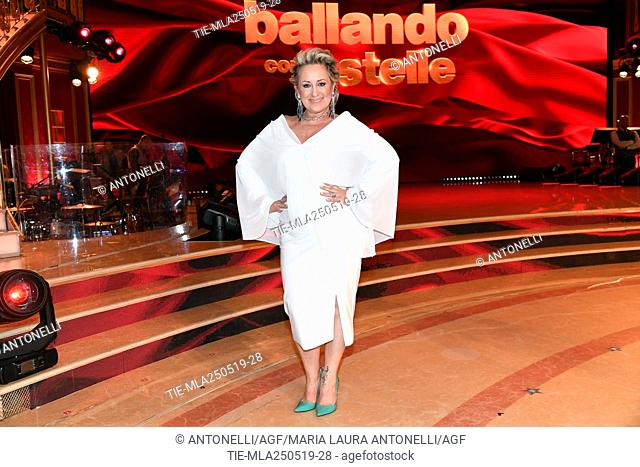 Carolyn Smith choreographer and judge of Ballando con le Stelle during the Talent Show Rai1 Ballando con le Stelle. Rome, Italy 24-05-2019