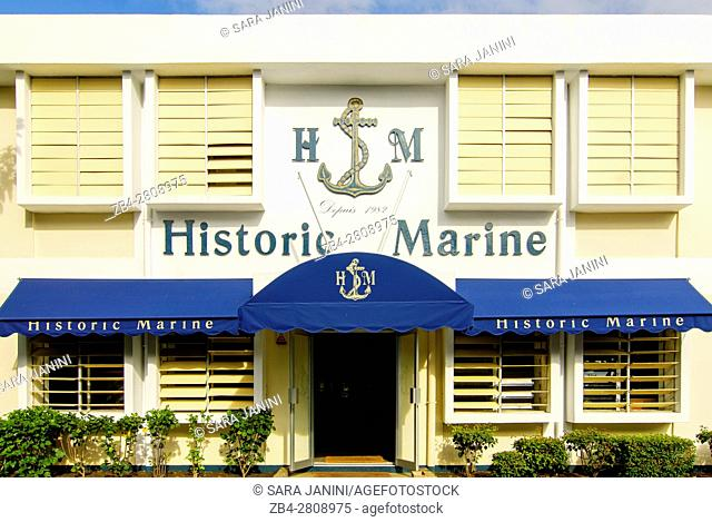 Historic Marine Model Ship factory, Saint Ampoine, Goodlands, Mauritius, Indian Ocean, Africa