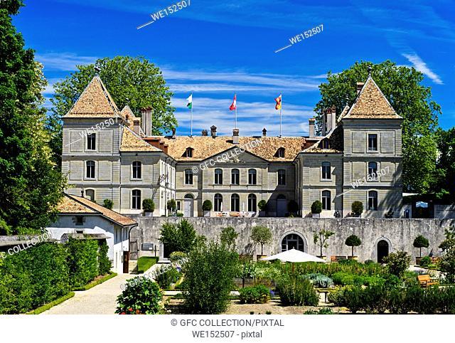 Swiss National Museum Prangins Castle, Chateau de Prangins, Prangins, Vaud, Switzerland