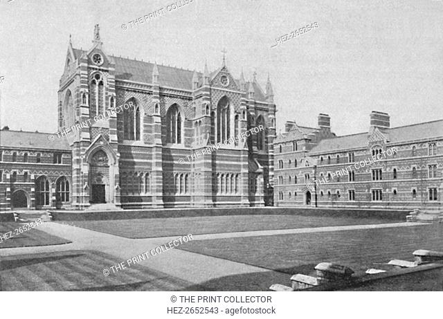 'Quadrangle, Keble College, Oxford', 1904. From Social England, Volume VI, edited by H.D. Traill, D.C.L. and J. S. Mann, M.A